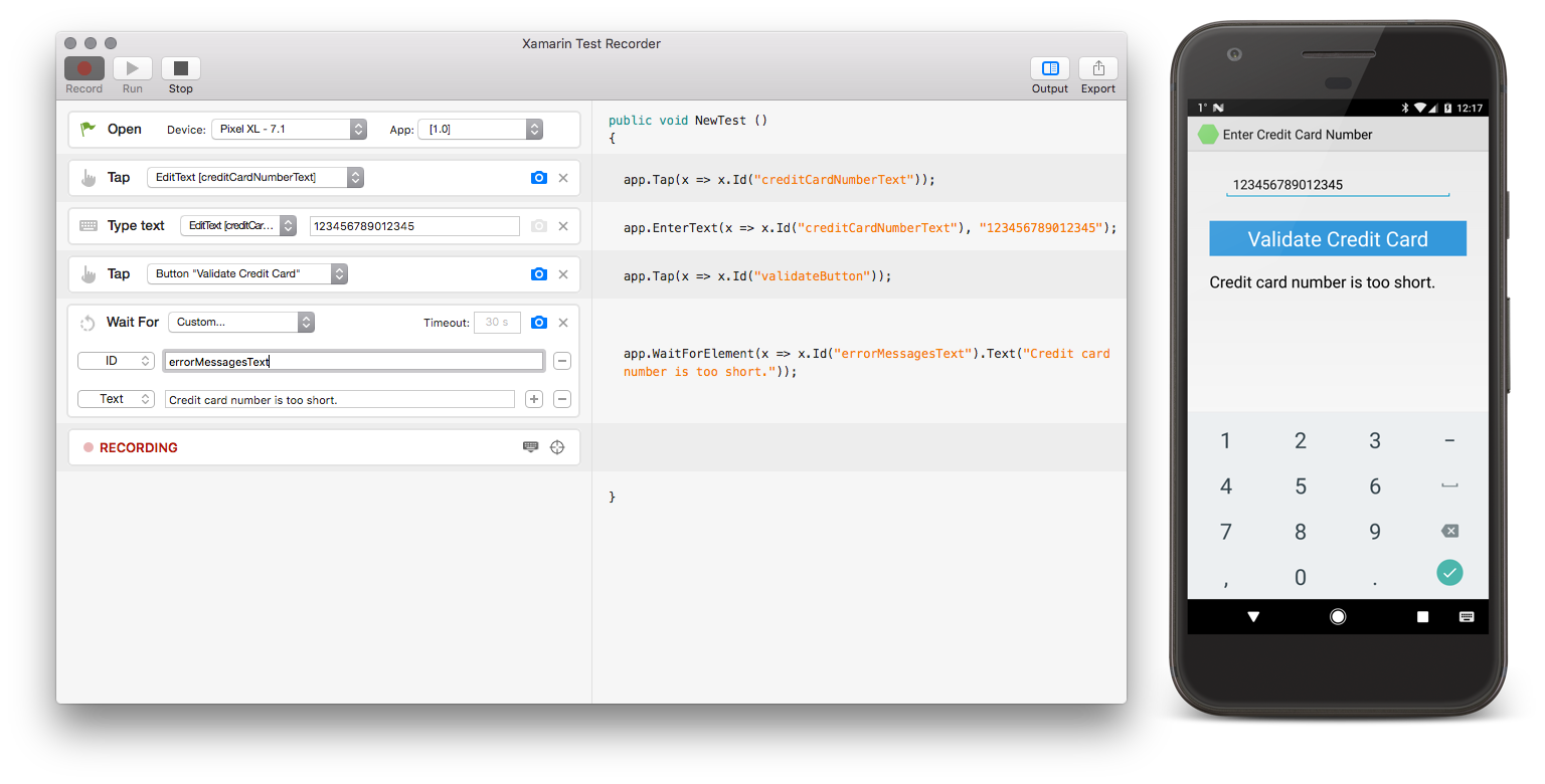 How to Run Automated UI Tests from a VS App Center Build
